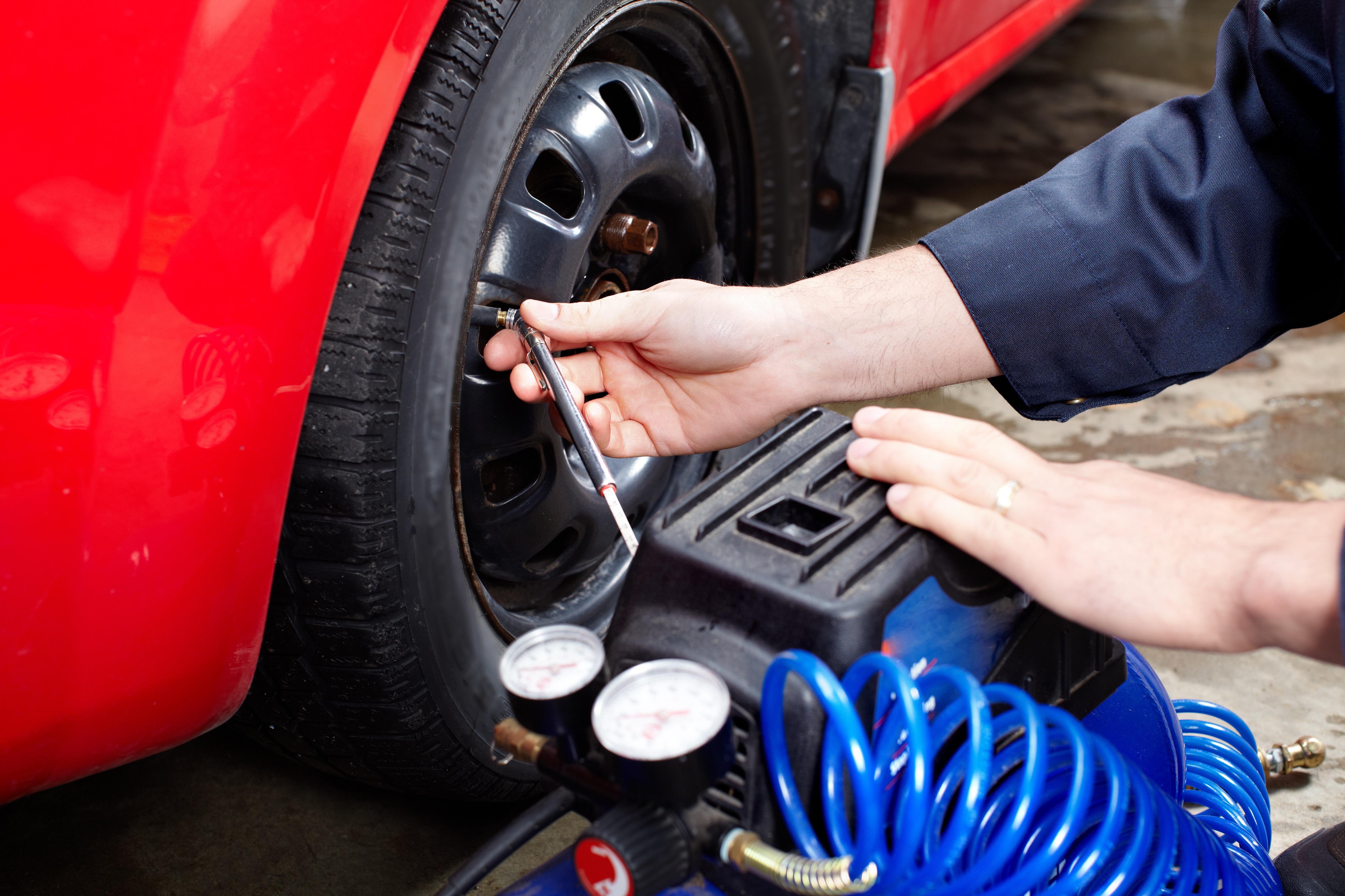 Por que é importante calibrar os pneus?