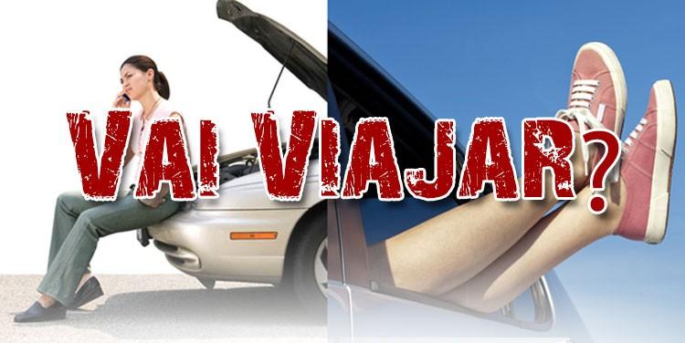 Vai viajar? Faça revisão no seu carro antes de pegar a estrada