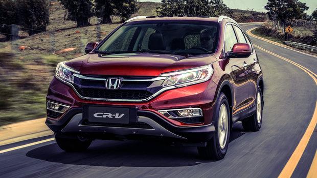 Novo Honda CR-V chega por R$ 134.900