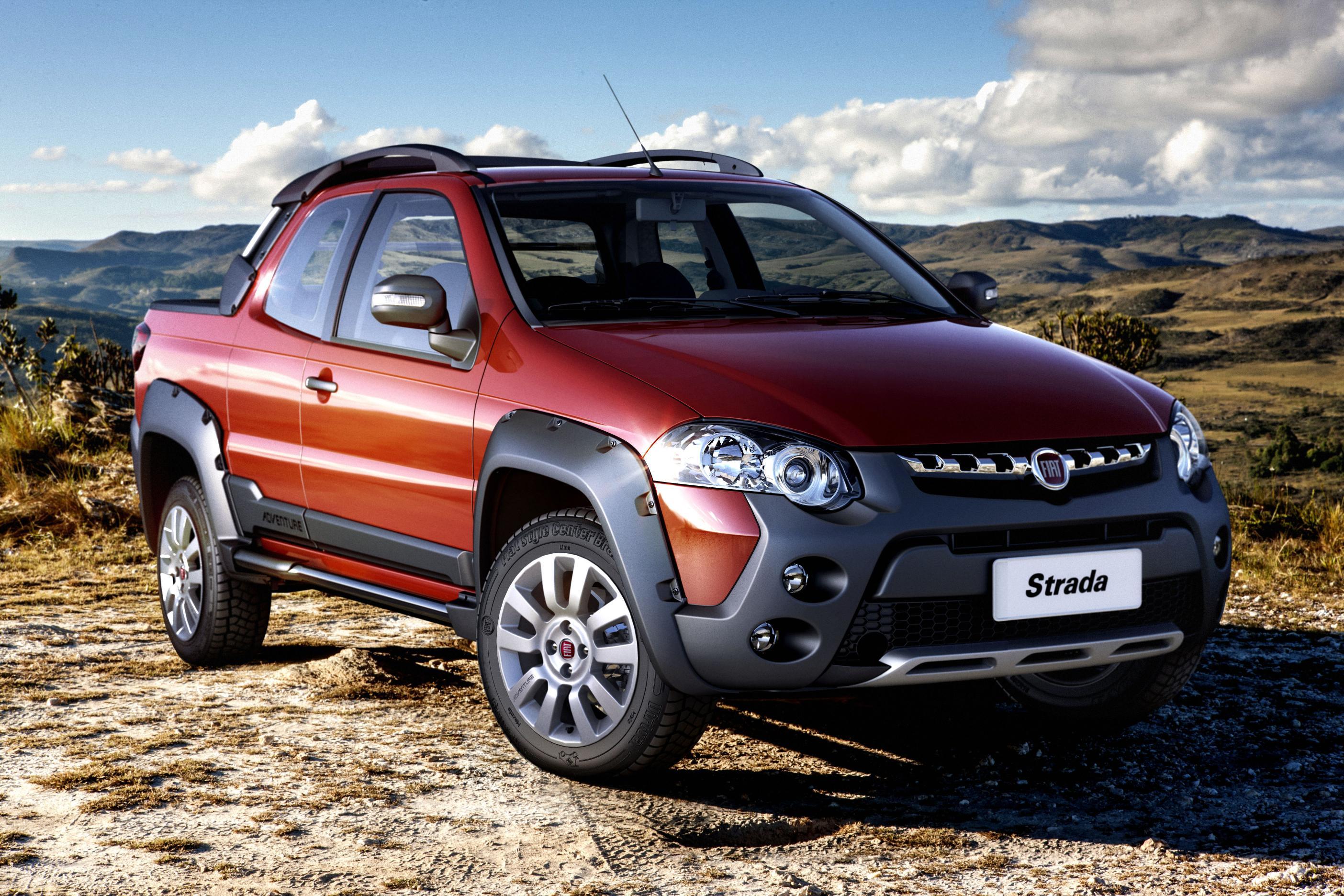 Conheça a nova versão do Fiat Strada