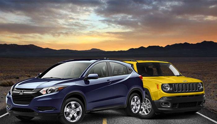 Honda HR-V e Jeep Renegade começam 2016 com aumento de preços